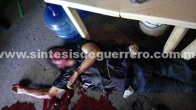 Ejecutan a dueño de un botanero en Tepecoacuilco