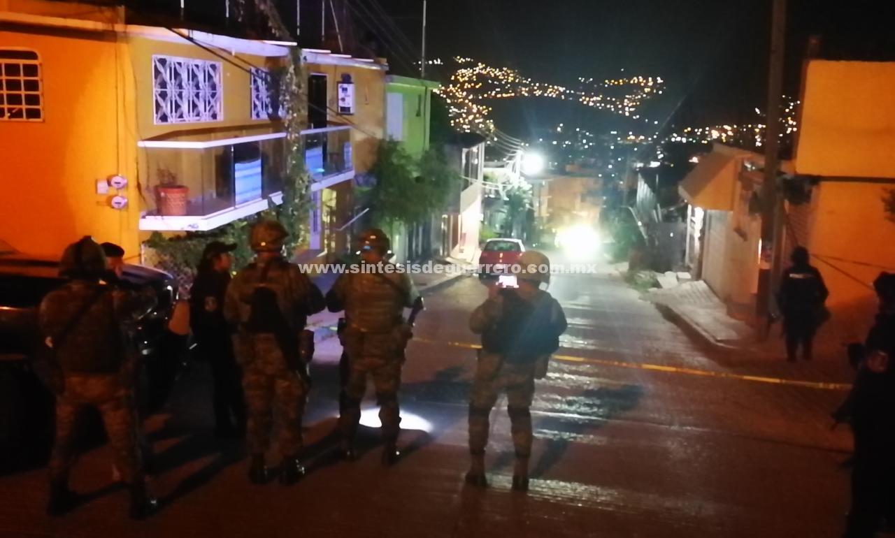 Grupo armado dispara contra una vivienda en Chilpancingo