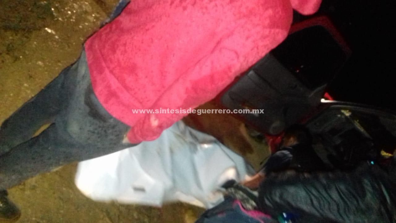 Acribillan a cuatro hombres en El Aguacate, Taxco; dos eran hijos del comisario