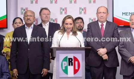 Ella es Claudia Ruiz Massieu, la nueva dirigente del PRI