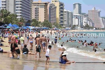 (Video) Llega ocupación hotelera en la zona Dorada al 94.4 por ciento