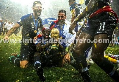 Gana la diversidad, Francia se lleva la Copa del Mundo