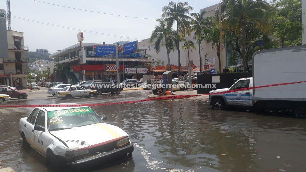 Prevalecerá fuerte oleaje en playas de Acapulco: PC