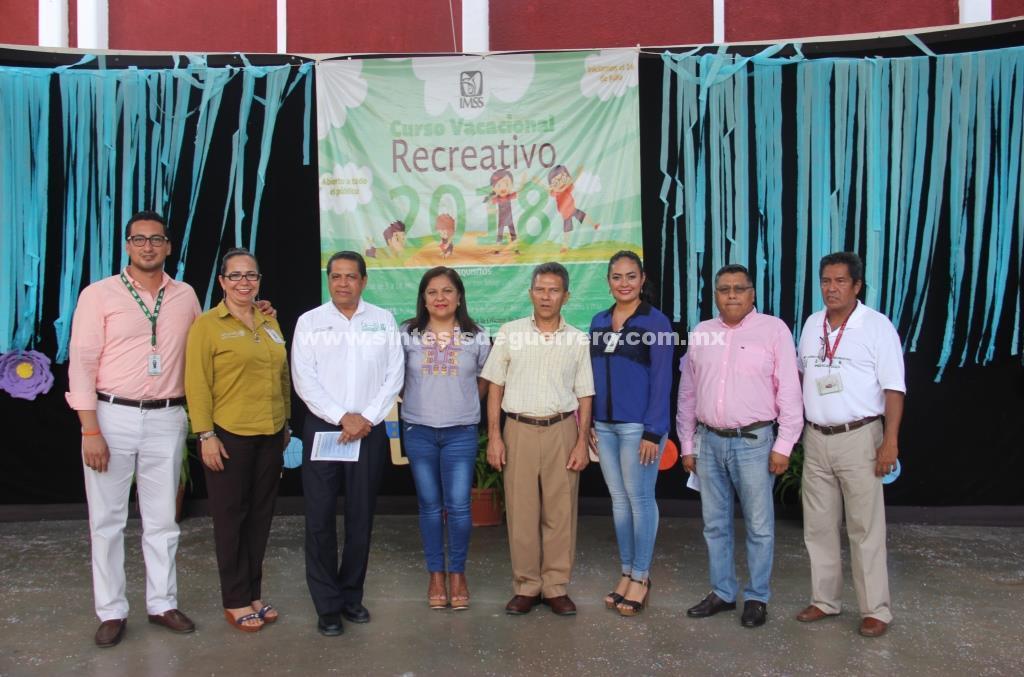 Arranca curso vacacional recreativo 2018 en Acapulco, Iguala, Chilpancingo y Taxco