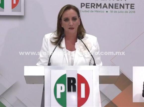 Soy priista de resistencia, no tengo miedo a ser oposición: Ruiz Massieu