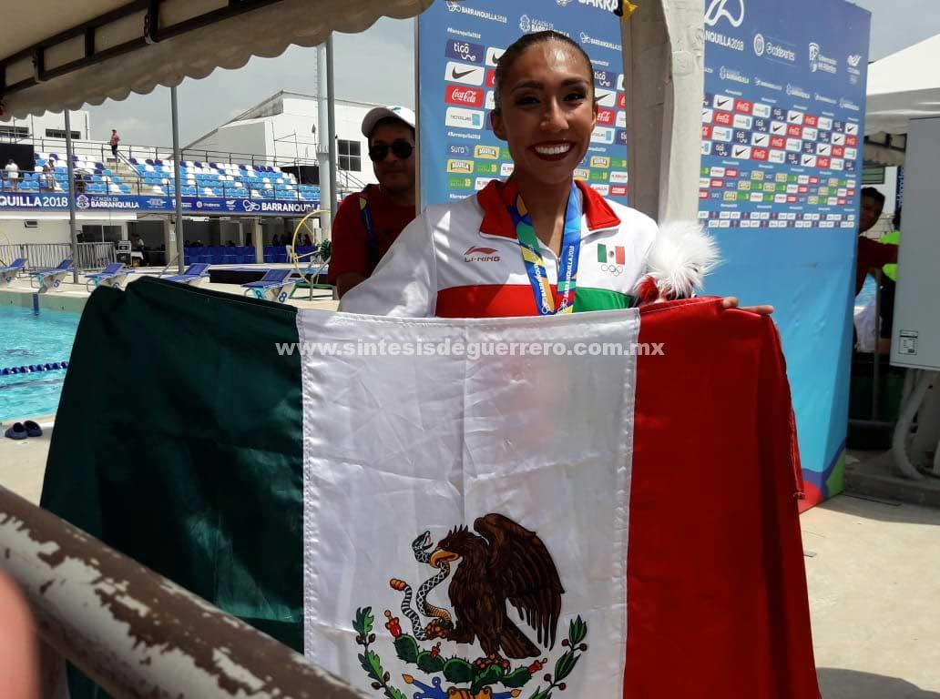 México inicia su participación en nado sincronizado con oro