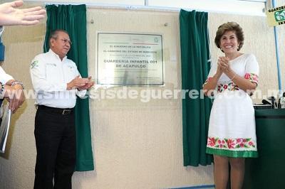 Reconoce la presidenta del DIF Guerrero el trabajo de las guarderías del IMSS en la niñez