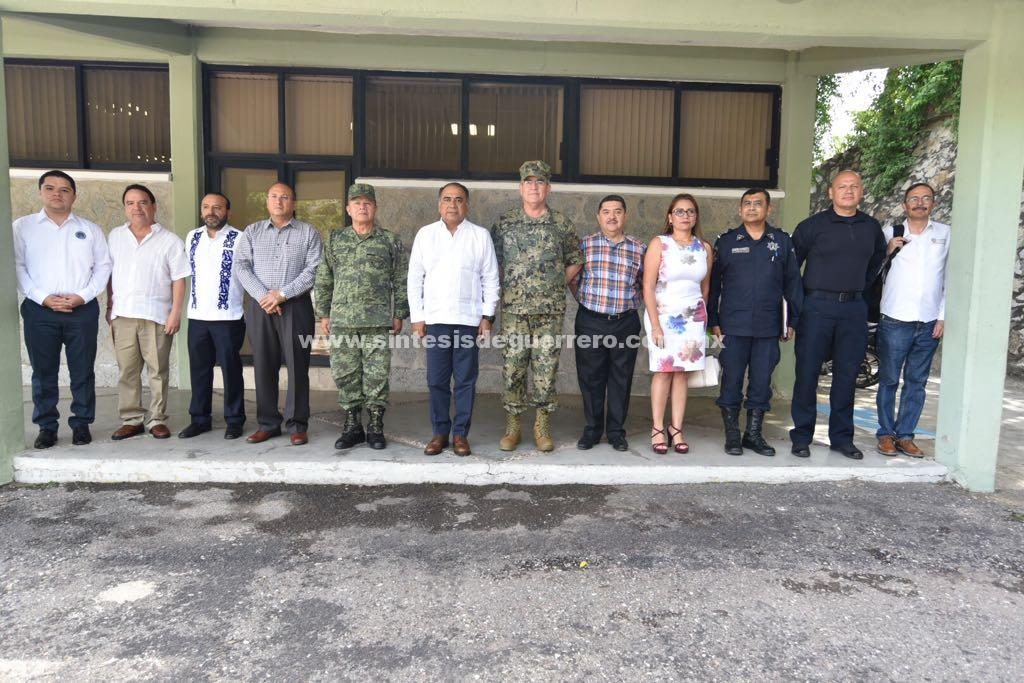 Alistan Gobernador y grupo de coordinación Guerrero, seguridad para proceso electivo de Ayutla