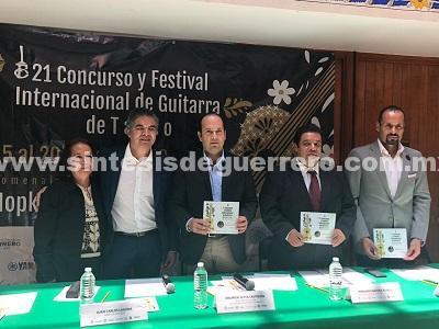 Inicia el próximo domingo 15 de julio el Concurso y Festival Internacional de Guitarra de Taxco