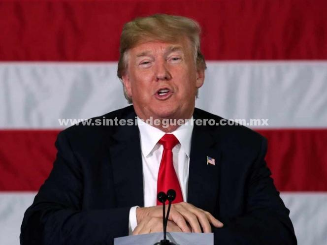 Propone Trump negociar acuerdo comercial independiente con México