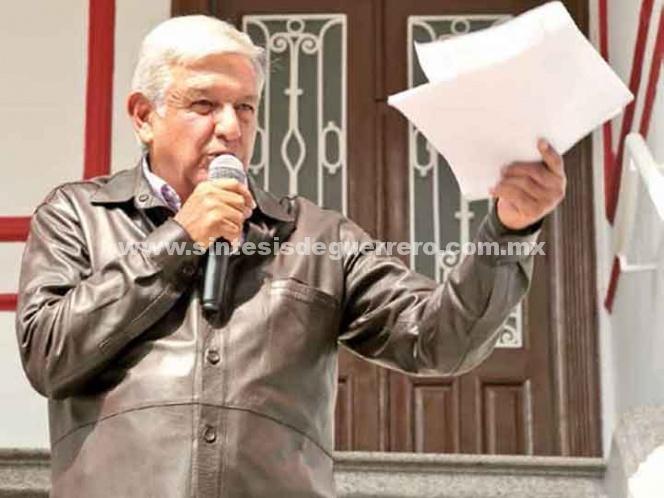 López Obrador: se romperá el molde de la política; ganaré $108 mil