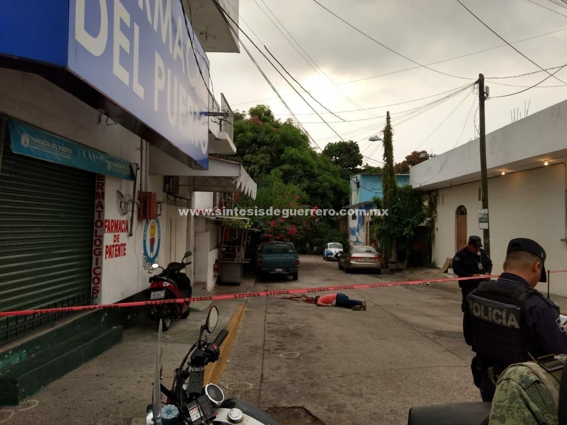 No cesa la violencia en periodo vacacional; otro ejecutado en Acapulco