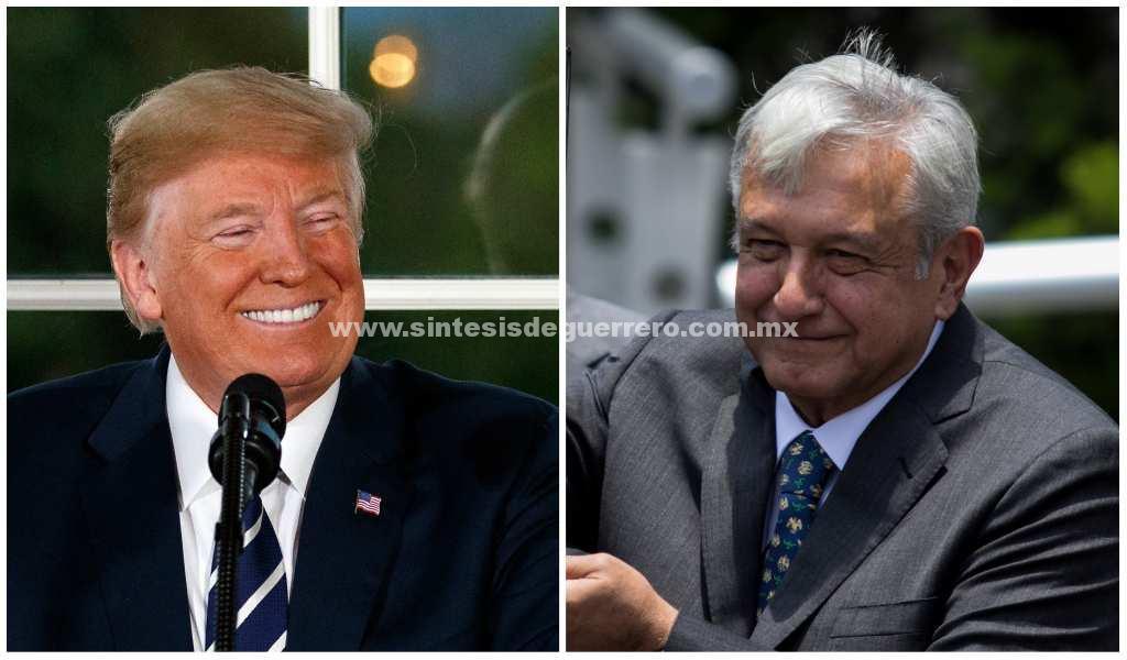 """Donald Trump dice que AMLO es """"todo un caballero"""""""