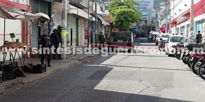 Persecución y balacera en Acapulco, deja un comerciante herido