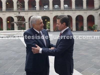 Gobierno, dispuesto a colaborar a transición eficiente: Peña Nieto