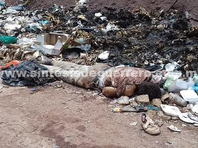 Encuentran a un hombre muerto en basurero de Olinalá