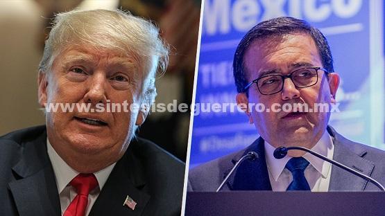 Sin garantía de que haya TLCAN en agosto: Guajardo… y Trump