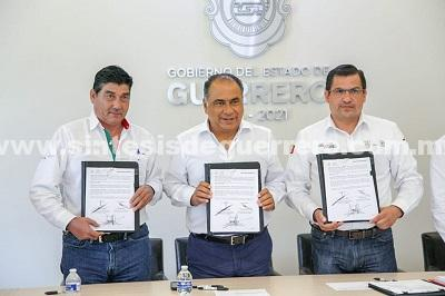 Firma como testigo de honor el gobernador contrato CDI-Diconsa, para adquirir 2 mil 372 toneladas de maíz