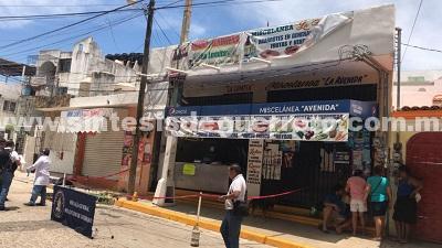 Ejecutan a un joven dentro de una tienda en Acapulco