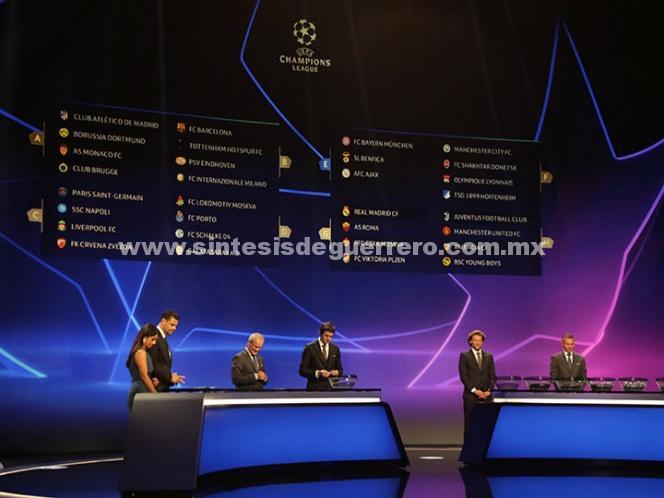 Listos los Grupos de Champions; Real Madrid con camino fácil