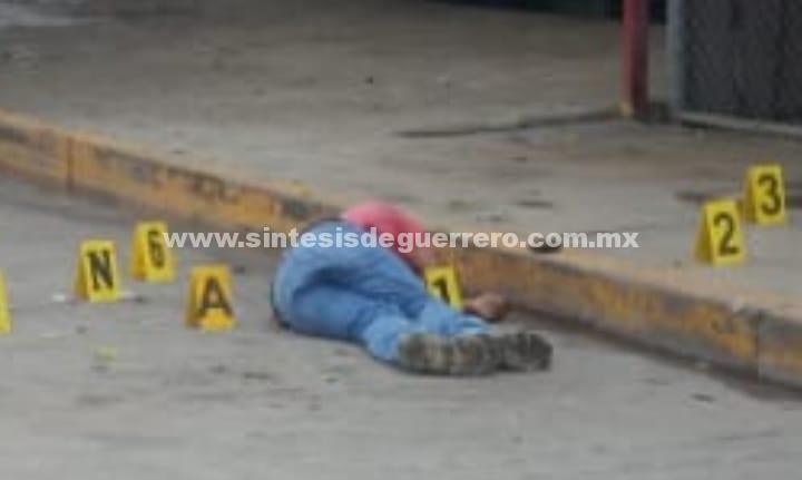 Ejecutan a dos hombres y una bebé de un año, en Chilapa