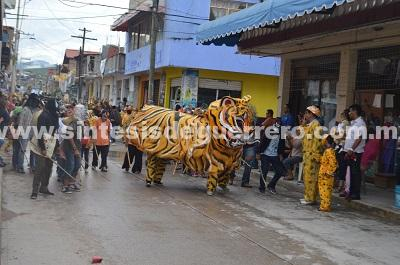 (Video) Realizan en Chilapa la tradicional Tigrada 2018