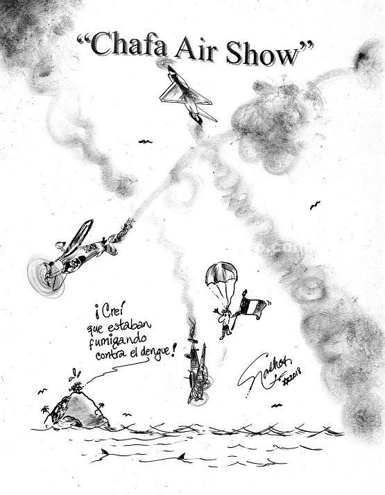 El Cartón de Nacho´s: CHAFA AIR SHOW