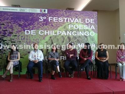 Arranca en Chilpancingo la 3ra edición del Festival de Poesía Avispero 2018