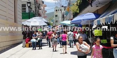Andador Zapata, inseguro y en penumbras; es zona de alto riesgo en Chilpancingo
