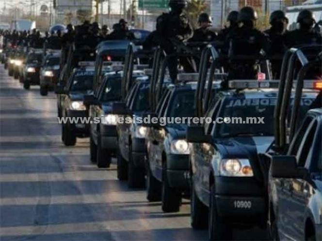 Faltan a México 96 mil policías; incumple estándar de la ONU