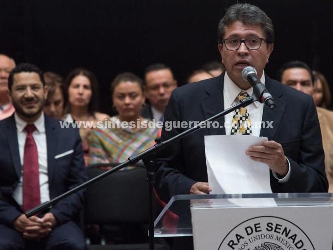 Senado operará con mil 500 mdp menos: Monreal
