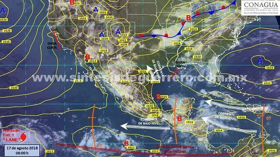Prevalecerá pronóstico de lluvias fuertes y altas temperaturas: protección civil estatal