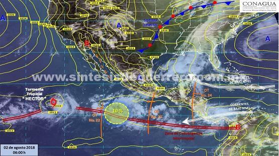 Prevé Protección Civil estatal tormentas intensas y altas temperaturas en Guerrero
