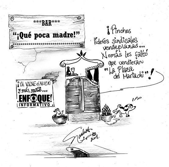 """El Cartón de Nacho´s: """"¡QUÉ POCA MADRE!"""""""