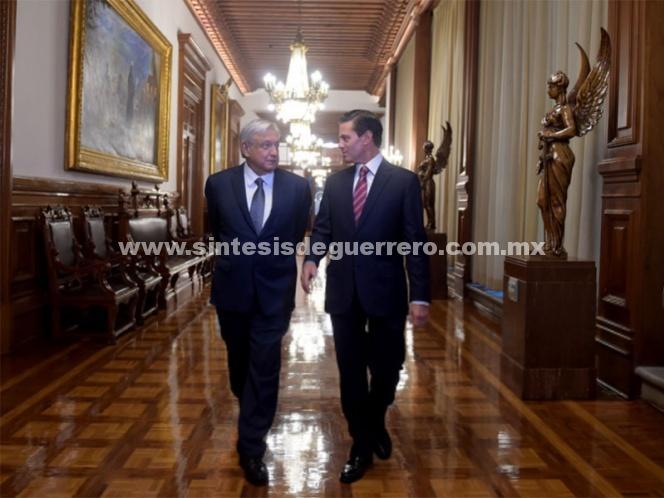 Transición ordenada es muestra de madurez democrática: Peña Nieto