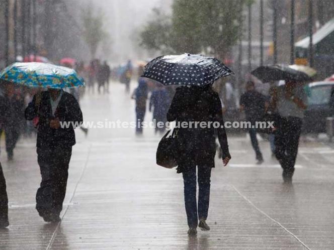 Seguirán las lluvias en el Valle de México