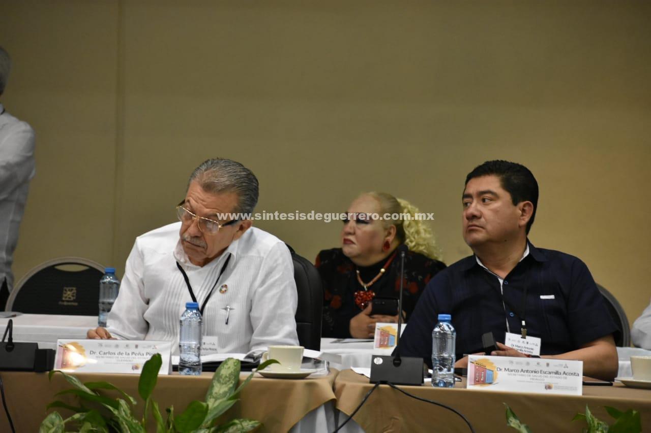 Participa secretario de salud, Carlos de la Peña, en Reunión Nacional de Salud en Campeche