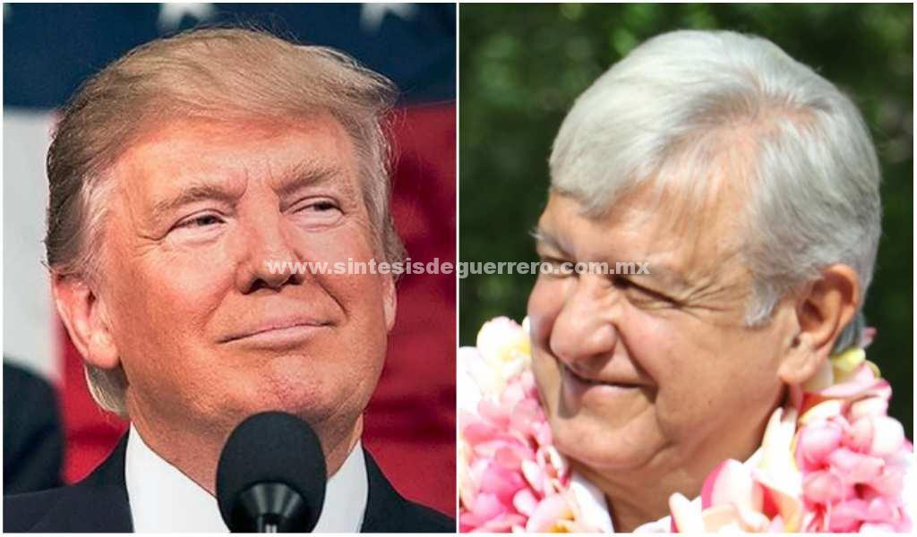 Trump nos ha tratado de manera respetuosa, dice AMLO