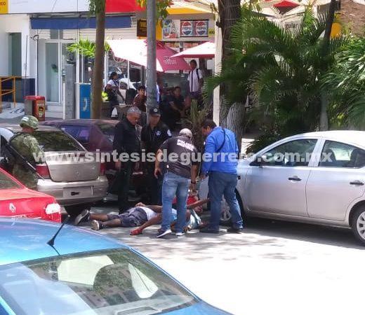 Detienen a presuntos delincuentes en costera de Acapulco