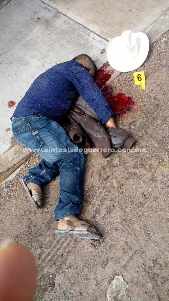 Era Policía Comunitario, el ejecutado frente a la Policía Ministerial de Chilapa