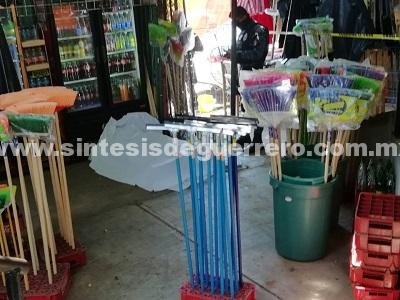 Asesinan a un hombre en el mercado de Las Flores, Acapulco