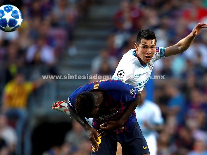 Resumen Champions League: Barcelona 4-0 PSV