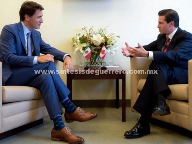 Peña y Trudeau hablan sobre el TLCAN en Asamblea de la ONU