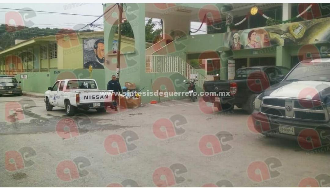 Dos muertos en ataque armado al ayuntamiento de Atenango del Río