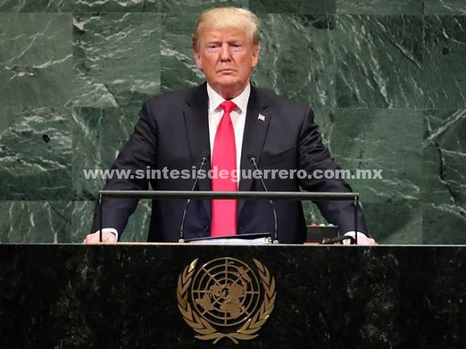 Se ríen de Trump en su cara durante discurso ante la ONU