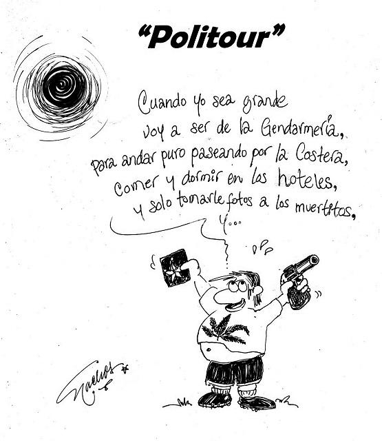 "El Cartón de Nacho´s: ""POLITOUR"""