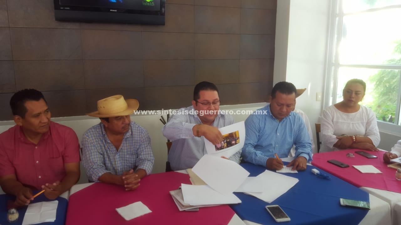 Denunciará PAN a funcionarios de Copalillo ante la Fepade