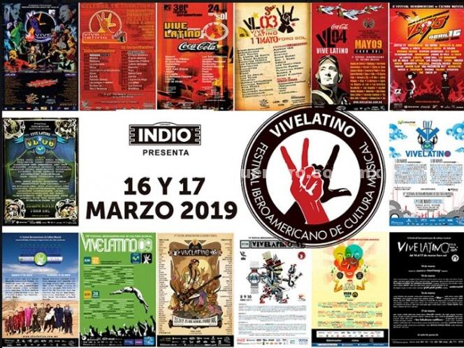 Vive Latino anuncia fecha para 2019, ¡apúntala!