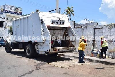 Se han retirado el 90% de puntos negros en Acapulco: Servicios Públicos