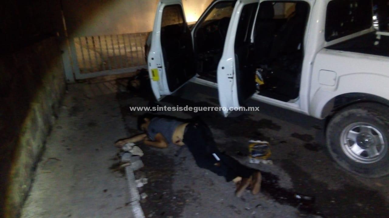 Tres civiles muertos y un policía herido, deja enfrentamiento en Mezcala